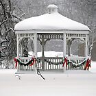 Holiday Gazebo by Monica M. Scanlan