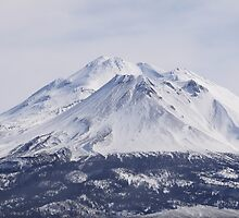 Mt. Shasta in February by BlueFeather