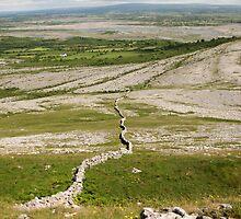 Burren Wall 2 by John Quinn