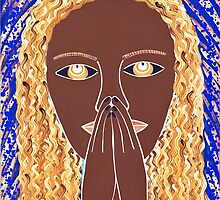 ANOTHER PRAYING LADY by JaneAParis