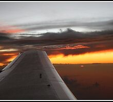 Sunset Plane. by Pricey