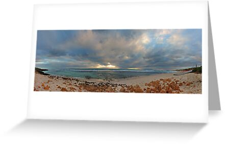 Mettams Pool Beach (Multi Row Panorama)  by EOS20