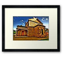 Colonial Justice - Beechworth Courthouse - Beechworth, Victoria - The HDR Experience Framed Print