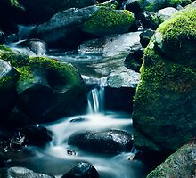 Erkskine River Cascades (Second Shot) by Tony Lin