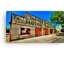 Clean Your Windscreen ? - Yackandandah, Victoria - The HDR Experience Canvas Print