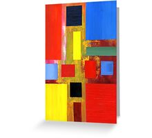 Abstract Squares #2 Greeting Card