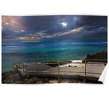Mettams Pool Beach Ramp  Poster
