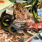 Marche Bastille Seafood, Paris by Keith Richardson