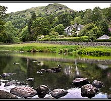 House overlooking Rydal Water by Shaun Whiteman