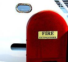 Fire Extinguisher by Dawn Palmerley