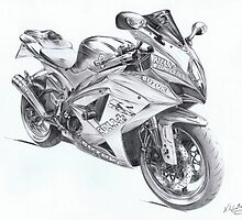 Suzuki GSX R1000 Moto GP Replica by kwin
