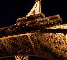 Eiffel Tower at Midnight 2 by Acutance