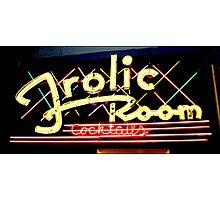 Frolic Room Photographic Print
