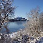 Winter Loch by Charles  Staig