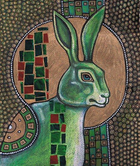 Icon III: The Rabbit by Lynnette Shelley