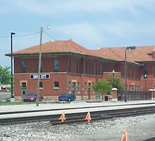 Train Depot Dodge City Kansas by icesrun