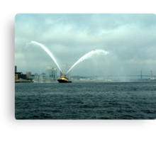 Fireboat-Halifax Canvas Print