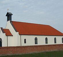 Agger Church, Denmark (A church for seamen) by Tove