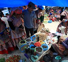 Bac Ha Markets by Andrew Willesee