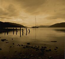 loch ness at night by joemagic