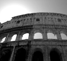 The Flavian Amphitheatre (Colosseum) by Annette Brown