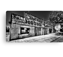Clean Your Windscreen ?(Monochrome) - Yackandandah, Victoria - The HDR Experience Canvas Print