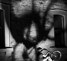 Me and my shadow 2. by Steve Chapple