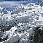 Everest over the Ice by Richard Heath