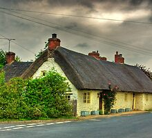 Thatched Country Cottage - Harome by Trevor Kersley