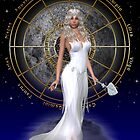 Arianrhod .. moon goddess by LoneAngel