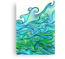 Slosh Canvas Print