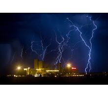 Budweiser Storm Photographic Print