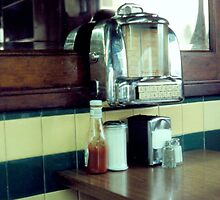 Salem Diner, Interior by gailrush
