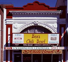 Ben's Chili Bowl, Washington, D.C. by Carol M.  Highsmith