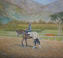 Santa Anita Park by Birgit Schnapp