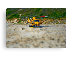 helicopter - version two Canvas Print