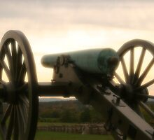 Lone cannon by djphoto