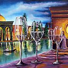 DINNER IN MOROCCO by CustomCanvasART