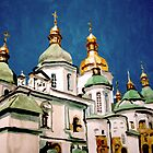 St Sophia Cathedral in Kiev by Jim Phillips