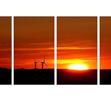 when the sun goes down by Anne Seltmann