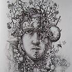The Thinker,  by Jedika