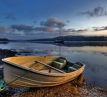 Dawn At Port Lion by Mark Robson