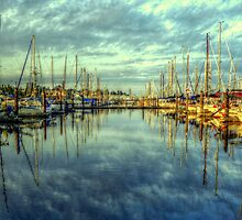 Waiting for the Regatta #2 ~ HDR Series ~ Port Townsend, Washington by lanebrain photography