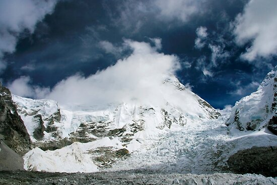 Everest Ice Fall by Richard Heath
