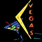 Las Vegas Neon by Carol M.  Highsmith
