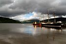 Spotlight on Inverary Harbour by Kasia-D