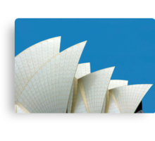 The Sails - Sydney Opera House, NSW Australia Canvas Print