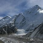 Nuptse and Khumbu Galcier by Richard Heath