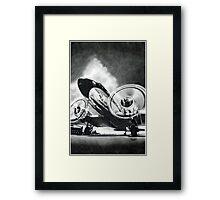 """""""The Gooney Bird"""" Framed Print"""