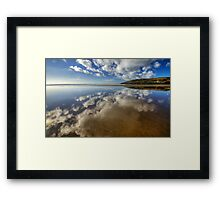 Mirror Beach Framed Print